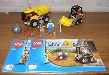 Lego City 4201 Bagger mit Kipplaster mit Figuren und Anleitung 100% komplett