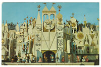 Disneyland Vintage Unused Postcard It's A Small World Ride Exterior circa 1970s
