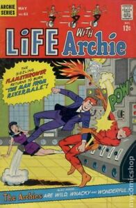 Life with Archie #61 VG+ 4.5 1967 Stock Image Low Grade
