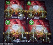 8 AIR WICK LIFE SCENTS SPICED APPLE CRUMBLE SCENTED OIL REFILLS