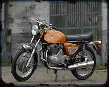 Benelli 650 Tornado 71 02 A4 Photo Print Motorbike Vintage Aged