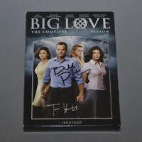 BIG LOVE 4th SEASON DVD CAST Signed (6x) Bill Paxton, Tom Hanks, Chloe Sevigny