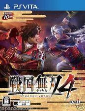 Used PS Vita Sengoku Musou 4 SONY PLAYSTATION JAPANESE IMPORT