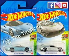 HOT WHEELS - Lot of 2 - NEW EXOTICS - Koenigsegg JESKO & McLaren Speedtail  C186
