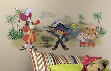 Disney CAPTAIN JAKE NEVERLAND PIRATES Wall Decals HOOK Room Decor Stickers 31T