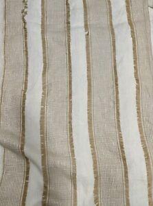 Schumacher Tulum Natural Fabric 2 3/8 Yards