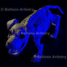 "19"" Halloween Gothic Puppy Dog Poseable Skeleton Bones Party Prop Decoration"