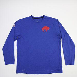 Buffalo Bills Nike Dri-Fit Long Sleeve Shirt Men's Blue Used