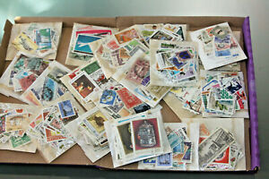 WORLD STAMP COLLN IN GLASSINES - ALL ERAS - MINT & USED - APX 1500-2000 STAMPS