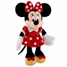 "AUTHENTIC DISNEY MINNIE MOUSE RED DRESS PLUSH TOY MEDIUM 18"" H BNwTAG"