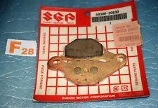 2 plaquettes de frein avant  origine Suzuki RM 80 85 AN 125 BURGMAN 59300-20830