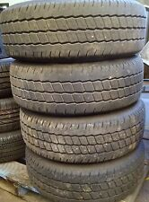 LIGHT TRUCK TYRES X 4 WITH 4 MAG WHEELS SIZE 215/65 R16C HIFLY SUPER 2000 BRAND