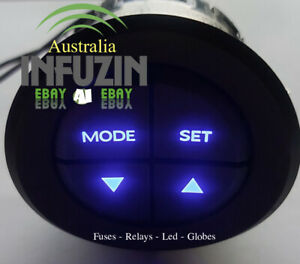 🌟 VY VZ WK WL Mode Switch Button Holden Commodore LED Replacement Globe 🌟