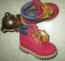 Timberland 6-Inch Premium Classic TD Toddler Infant Casual Boots RED UNISEX sz 5