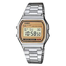 Casio a158wea-9ef Para Hombre Resistente Al Agua Classic Digital Cronógrafo Reloj * nuevos