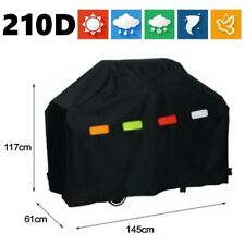More details for 145cm heavy duty bbq cover waterproof barbecue grill protector outdoor covers