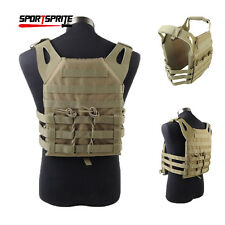 Tactical 1000D Molle Plate Carrier JPC Vest Military Airsoft Paintball Vest Top