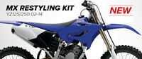 New YZ 125 250 15-19 Conversion kit For 02-14 Bike Plastics Kit Restyle Airbox