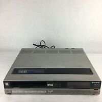 Sony SL-HFR60 Super Betamax Video Cassette Recorder For Parts