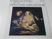 39548 - WEIHNACHTEN MIT DEM DRESDNER KREUZCHOR - 1981 ETERNA VINYL LP