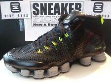 Nike Shox TLX Mid SP - Black / Reflect Silver - Volt - 677737 007 - Size: 12