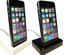 *UK SELLER* Charge & Sync Dock For iPhone 5/5c/5s/SE iPod Touch 5/6/7 UK SELLER*
