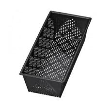 Kaiser Inspiration Brotform perforiert rechteckig 25 cm schwarz Stahl antihaft