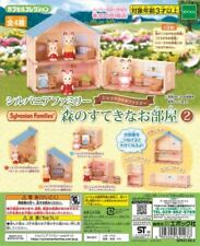 Sylvanian Families CAPSULE TOY FOREST ROOM No2 4pcs set Epoch Calico Critters