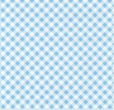 Klebefolie Karo Diagonal blau weiß selbstklebende Folie für Möbel 45 x 200 cm