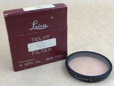 Leica SL Filter E.Leitz NY Filter for Telyt 20cm & Thambar Lenses w/Box