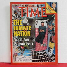 The Inmate Nation Time Magazine What Are Prisons For Reagan September 13 1982!
