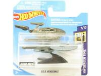 Hotwheels USS Vengeance HW Screen Time 52/250 Short Card 1 64 Scale Sealed New