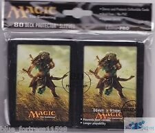 Ajani, Mentor of Heroes Journey into Nyx deck protector card sleeves for mtg