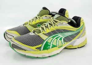 Puma Ventis Duel cell KMS Evertrack Athletic Shoes Women's Size 12 Yellow