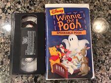 Winnie The Pooh Spookable Pooh Vhs! 2000 Horror! Seasons Of Giving