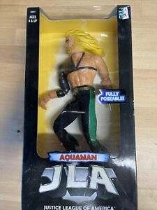 """1998 DC Comics Justice League Of America Aquaman 12"""" Cloth pants NIB"""