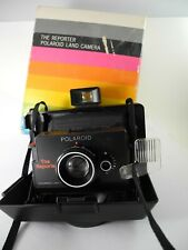 """Polaroid """"The Reporter"""" Collapsible Instant Camera, Vintage, NICE!"""