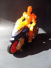 Figurine TOY BIZ 2005 MARVEL HUMAN TORCH la torche humaine mécanisme ok