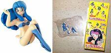 Urusei Yatsura Dokodemo Lum-Chan Figurine Type B Blue Rumiko Takashi Licensed