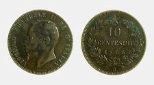 pcc2025_5) Vittorio Emanuele II (1861-1878) 10 Centesimi 1866 H