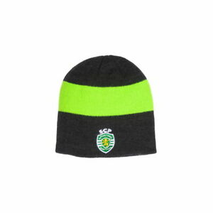 Sporting CP Knitted Beanie Fi Collection Officially Licensed Embroidered Crest