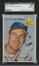1954 TOPPS TOM POHOLSKY #142 SGC 88 NM-MT ST LOUIS CARDINALS