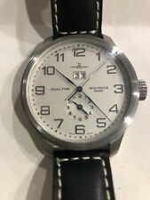 ZENO Basel Swiss Watch Dual Time Big Date Automatic 47mm  Model REF. 8651