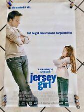 2003 Jersey Girl Original Movie Poster Miramax Films Comedy