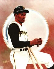 bob ROBERTO CLEMENTE 8x10 Vintage ART Photo PITTSBURGH PIRATES (#21) Puerto Rico