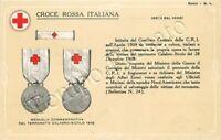Croce Rossa Italiana - Medaglia commemorativa terremoto calabro siculo del 1908