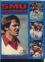 1978 Southern Methodist Football Yearbook MBX22