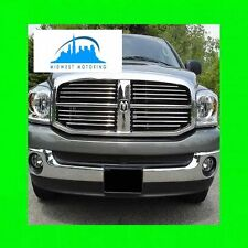 2004-2011 DODGE DAKOTA CHROME TRIM FOR GRILL GRILLE W/5YR WARRANTY