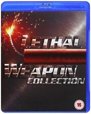 Lethal Weapon (Blu-ray, 2010, 4-Disc Set)
