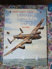 Lancaster Squadrons 1942-43 By Jon Lake Book